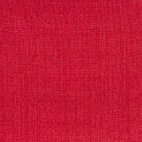 Belvedere - Poppy Red - Very bright, vibrant claret red coloured fabric made entirely from unpatterned polyester