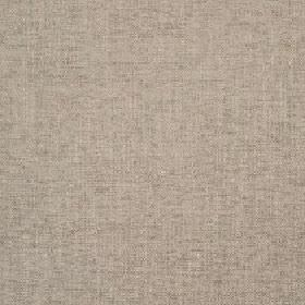Delano - Cement - Two very light beige shades in a polyester, cotton, viscose and linen blend fabric with a subtle, slightly patchy finish