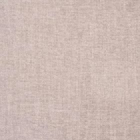 Delano - Warm Sand - Pale shades of blush pink and grey-cream combined to create a plain fabric made from polyester, cotton, viscose and linen