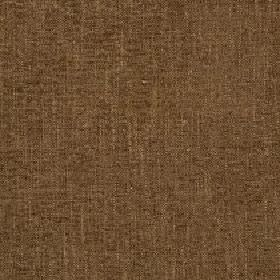 Delano - Teak - Warm brown coloured fabric made from polyester, cotton, viscose and linen with a few slightly lighter coloured streaks
