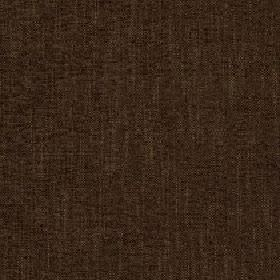 Delano - Chesnut - Slightly streaky fabric made from dark chocolate brown coloured polyester, cotton, viscose and linen