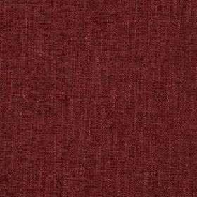 Delano - Rosewood - Several dark shades of burgundy making up a slightly patchy fabric made from polyester, cotton, viscose and linen