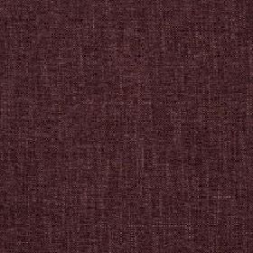 Delano - Dusk - Polyester, cotton, viscose and linen blend fabric made in dark and light shades of aubergine with a slightly patchy finish