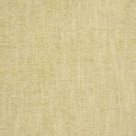 Delano - Sweet Pea - Fabric blended from polyester, cotton, viscose and linen in a light colour that's a blend of green and yellow shades