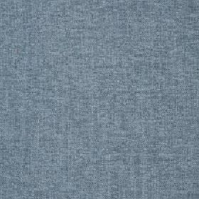 Delano - Colonial Blue - Polyester, cotton, viscose and linen blend fabric made in a slightly patchy blue-grey colour