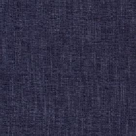Delano - Marlin - Luxurious, sopshisticated midnight blue coloured fabric made from a blend of polyester, cotton, viscose and linen