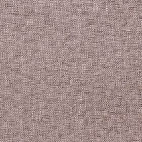 Delano - Zinc - Light brown-grey and off-white coloured polyester, cotton, viscose and linen threads woven into a fabric with a pink tinge