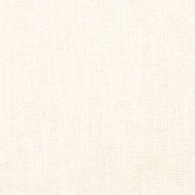 Delano - Ivory - Polyester, cotton, viscose and linen blend fabric made in a plain off-white colour