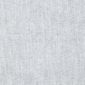 Delano - Moonstruck - Fabric made from light grey coloured polyester, cotton, viscose and linen with a few white coloured streaks