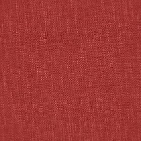 Delano - Red Rose - A few pale flecks running through polyester, cotton, viscose and linen blend fabric in bright tomato red