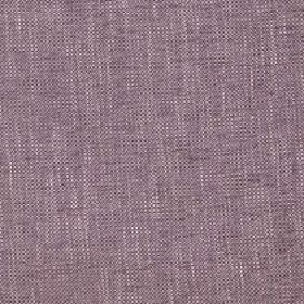 Delano - Henna - White streaks running through polyester, cotton, viscose and linen blend fabric in a plain light purple-grey colour
