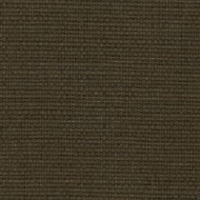 Nova - Chocolate - A very dark shade of Army green covering fabric made with a mixed 52% cotton and 48% linen content