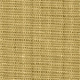 Nova - Sesame - Plain light golden yellow coloured fabric woven from threads made with a cotton and linen blend