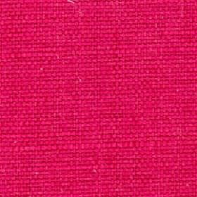 Nova - Lipstick - Cotton and linen woven together into a very bright cerise-red coloured fabric