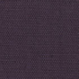 Nova - Aubergine - Very dark shades of purple and grey combined to create an unpatterned cotton and linen blend fabric