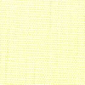 Nova - Lime - Pale yellow and white coloured threads woven together into a cotton and linen blend fabric with no other pattern