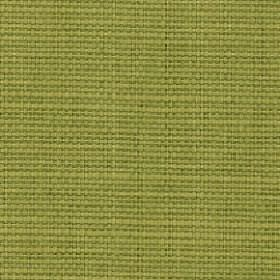 Nova - Melon - Fabric made from a grass green coloured blend of cotton and linen with no pattern
