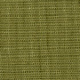 Nova - Olive - Cotton and linen blended together into a plain fabric in a deep leafy shade of green