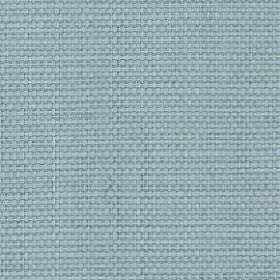 Nova - Sky - Duck egg blue coloured cotton and linen blend threads woven into an unpatterned fabric