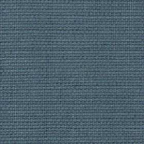 Nova - Denim - Unpatterned cotton and linen blend fabric woven in a plain colour that's a mix of dusky blue and grey