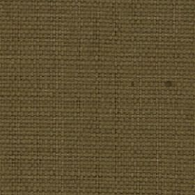 Nova - Nutmeg - Plain Army green coloured fabric woven from threads made from cotton and linen