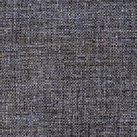 Odin - Pewter - Light grey, dark beige, black and white coloured threads woven together into a polyester and cotton blend fabric