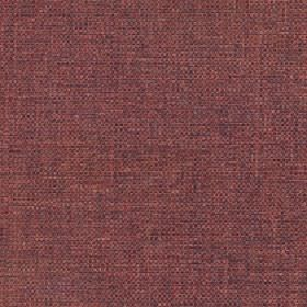 Odin - Tabasco - Slightly patchy polyester and cotton blend fabric made in dark red, grey and orange colours
