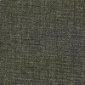 Odin - Forest - Fabric woven from threads made from polyester and cotton in dark shades of grey and forest green