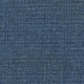 Odin - Mallard Blue - Subtly streaked denim blue coloured fabric made with an 87% polyester and 13% cotton blend