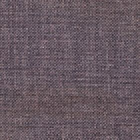 Odin - Peppercorn - Fabric made from polyester and cotton with threads woven in dark shades of purple, grey and black