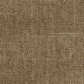 Palamino - Pecan - Hazlenut brown coloured polyester and viscose blend fabric woven with a few cream coloured threads