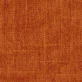 Palamino - Paprika - Polyester and viscose blend fabric woven using bright orange and fiery red coloured threads