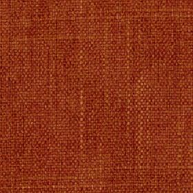 Palamino - Sienna - Caramel and blood red coloured polyester and viscose blend threads woven into a fabric with no other pattern