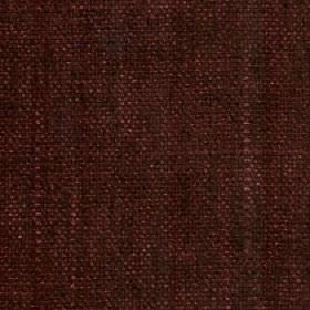 Palamino - Burgundy - Fabric woven from polyester and viscose in two very similar dark shades of brown with a very subtle patchy design