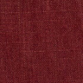 Palamino - Raspberry - Subtly streaked scarlet coloured polyester and viscose blend fabric made with a few lighter coloured threads