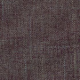 Palamino - Fjord - Polyester and viscose blend fabric woven to create a slightly patchy finish from dark mulberry and grey coloured threads