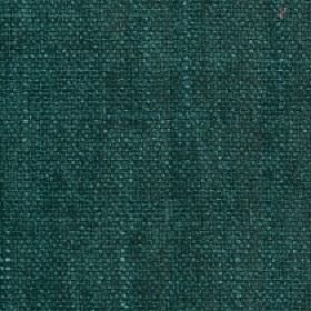 Palamino - Teal - Deep teal coloured fabric featuring some very subtle flecks and a mixed polyester and viscose content