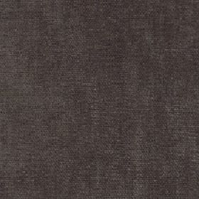 Paraiso - Dark Earth - 100% polyester fabric made in a plain colour that's a blend of dark grey and brown