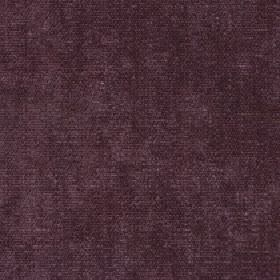 Paraiso - Deco Rose - A very slightly patchy effect covering dark plum coloured 100% polyester fabric