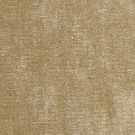 Paraiso - Latte - Light gold and cream coloured 100% polyester woven into a slightly patchy fabric with a subtle green tinge