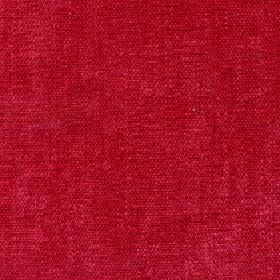 Paraiso - Poppy Red - Bright pillarbox red coloured 100% polyester fabric