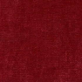 Paraiso - Red Rose - Plain garnet red coloured fabric made from 100% polyester