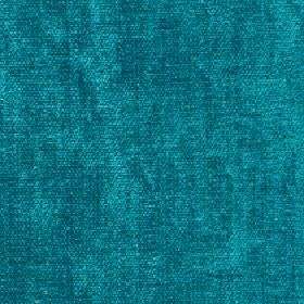 Paraiso - Turquoise - Bright aquamarine coloured 100% polyester fabric patterned with some slightly darker coloured patches