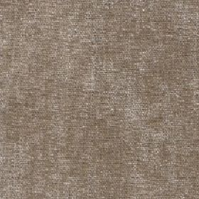 Paraiso - Warm Sand - 100% polyester fabric made with a slightly patchy effect in brown, grey and off-white colours