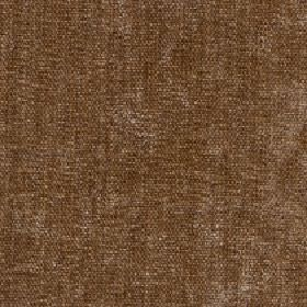 Paraiso - Brown Sugar - Some light cream-beige coloured areas creating a slightly patchy finish on hazlenut brown coloured 100% polyester fa