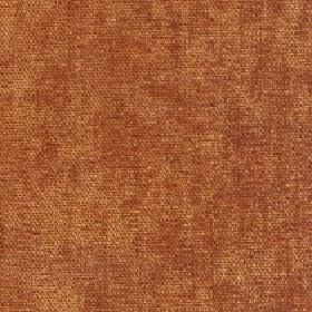 Paraiso - Burnt Orange - Slightly patchy rust coloured fabric made entirely from polyester