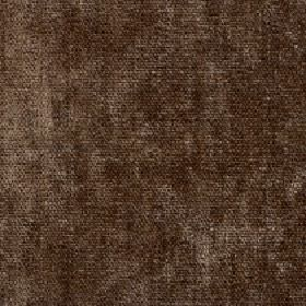 Paraiso - Chestnut - Dark brown fabric made from patchily coloured 100% polyester with some areas in lighter and darker shades