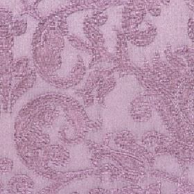 Amelia - Dusty Rose - Large, slightly textured swirls patterning cotton and viscose blend fabric in a pinkish shade of mauve