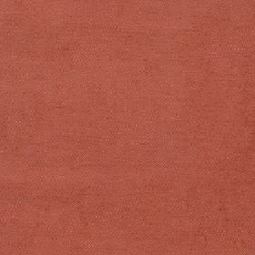 Elgar - Autumn Ginger - Fabric made from cotton, viscose and polyester in a light, dusky shade of red-orange