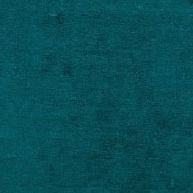 Elgar - Dragonfly - Deep turquoise coloured cotton, viscose and polyester blend fabric